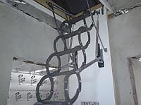 Лестница металлическая Ножничная LST  60*120*280 Факро  8-707-570-5151