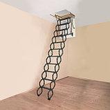 Лестница металлическая Ножничная LST  60*120*280 Факро  8-707-570-5151, фото 8