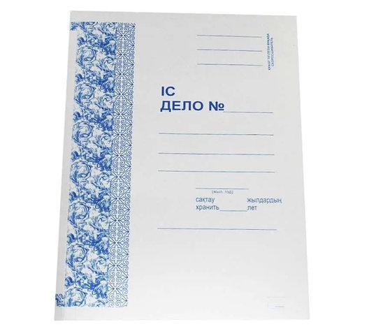 Папка-скоросшиватель картонная, А4 формат, 235 гр, не мелованная, фото 2