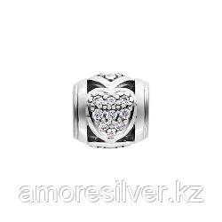 Серебряные серьги с фианитом   AQUAMARINE 46838А.5