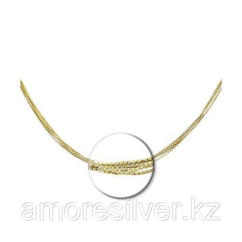 Колье SOKOLOV серебро с позолотой, без вставок 94074446