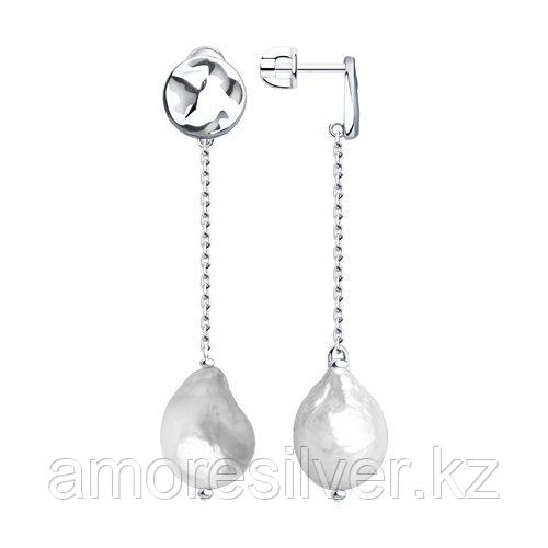 Серьги из серебра    SOKOLOV 92022142