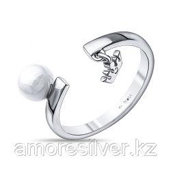 Серебряное кольцо с керамикой    Teosa ZCR-2129-W размеры - 17,5