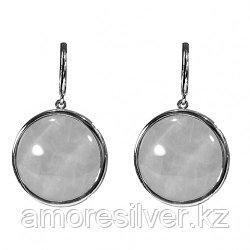 Серебряные серьги с сердоликом и агатом    Невский 43565Р