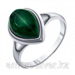 Серебряное кольцо с малахитом синтетическим    Darvin 920281030aa размеры - 18 18,5