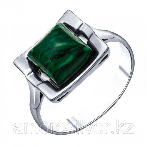 Серебряное кольцо с малахитом синтетическим    Darvin 920281002aa размеры - 18,5