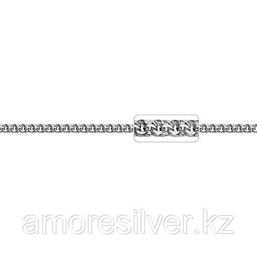 Браслет Адамант серебро с родием, без вставок Ср925Р-107008021