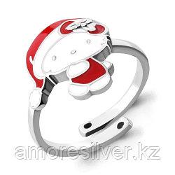 Серебряное кольцо с эмалью   Aquamarine 54638 размеры - 14