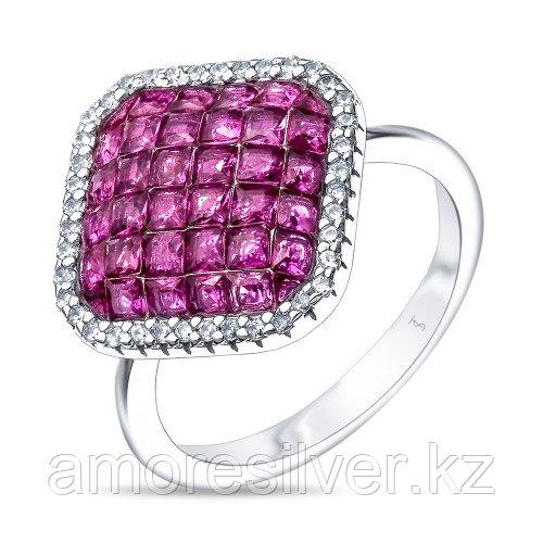 Кольцо из серебра с кубическим цирконом   TEO SANTINI TS81457-R-QCR