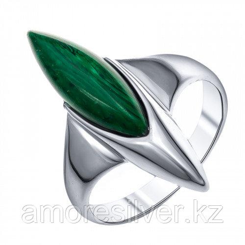 Серебряное кольцо с малахитом синтетическим    Darvin 920281313aa размеры - 18 19