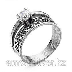 Кольцо из серебра с фианитом   Красная Пресня 2387814 размеры - 20,5 21 21,5 22
