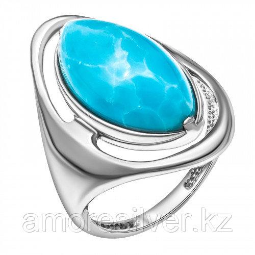 Серебряное кольцо с ларимаром   Darvin 920Y11128aa размеры - 18,5 19