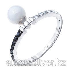 Серебряное кольцо с керамикой    Teosa ZCR-2116-W размеры - 16,5