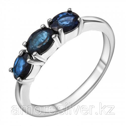 Кольцо из серебра с сапфиром    Teosa R-DRGR00940-SP размеры - 16,5
