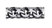 Браслет из серебра    Адамант Ср925Ч-107009022 размеры - 22