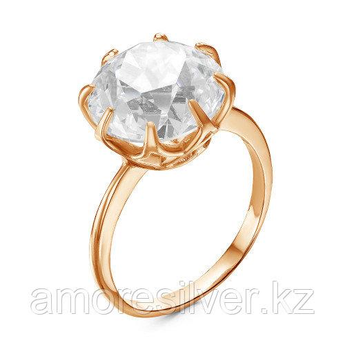 Серебряное кольцо с фианитом    Красная Пресня 23810537 размеры - 20