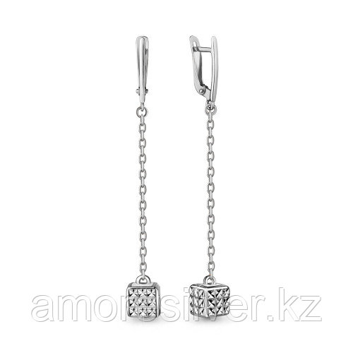 Серьги из серебра   Aquamarine 33609