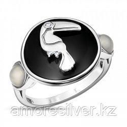 Кольцо из серебра с лунным камнем   TEO SANTINI SR1678-1 размеры - 17,5