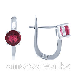 Серьги из серебра с рубином   TEOSA E-DRGR00556-RB