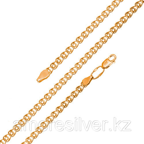 Серебряная цепь   Бронницкий ювелир V1030190065 размеры - 65  V1030190065 размеры - 65