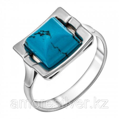 Кольцо из серебра с бирюзой синт.    Darvin 920071002aa размеры - 17,5