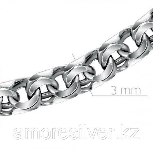 Браслет из серебра   Адамант Ср925Ч-107107020