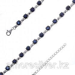 Браслет из серебра с сапфиром   Teosa B-DRGR00621-SP размеры - 18 19