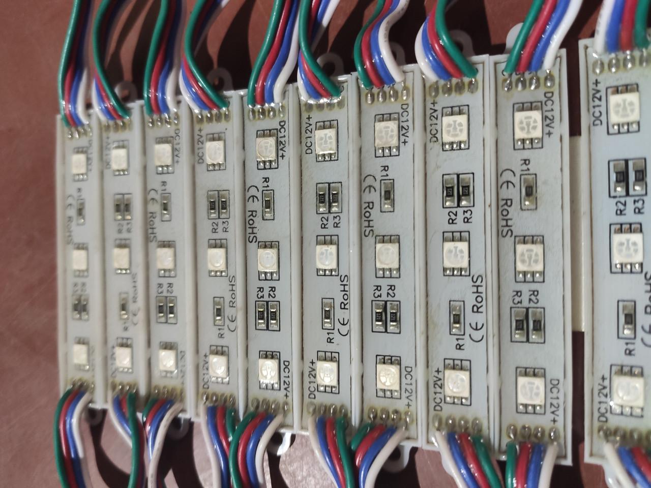 Диоды газовые 3т 7815F5050RGB  0.72W