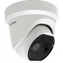 DS-2TD1217B-6/PA - 4MP/0.02MP (оптический/тепловизионный режимы) тепловизионная  купольная IP-камера.