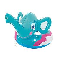 Круг для плавания BESTWAY Elephant Spray Ring 3+ 36116 (69x61см, Винил, Встроенная брызгалка), фото 1