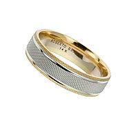 """Обручальное кольцо """"Angel & Sun"""" RB - 16,5 размер"""