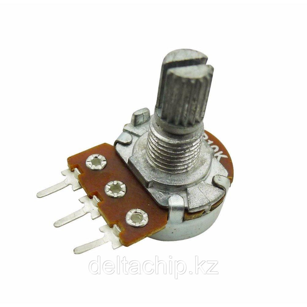 RES B10K 3pin 15mm d17mm переменный резистор.