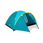 Палатка туристическая BESTWAY Pavillo Active Ridge 4 68091 ((210+100)х240х130см, Двухслойная)