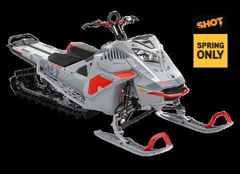 Снегоход Freeride 154'' SHOT 850 E-TEC Turbo Серый 2021