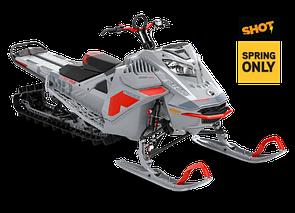 """Снегоход Freeride 165"""" SHOT 850 E-TEC Turbo Серый 2021"""