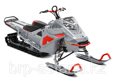 """Снегоход Freeride 165"""" 850 E-TEC Серый 2021"""