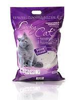 Впитывающий наполнитель Lucky Cat для туалета кошек (Без аромата) - 3.8 л