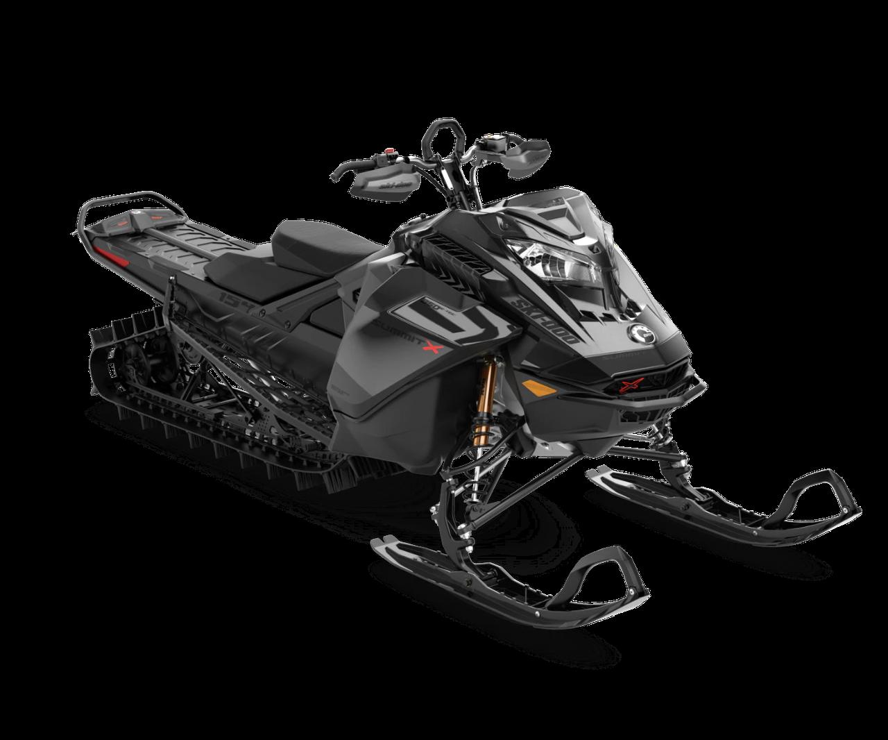 Снегоход Summit X Expert 154'' SHOT 850 E-TEC Turbo Черный металлик 2021