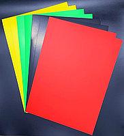 Цветная бумага А4,190 грамм, 100 листов