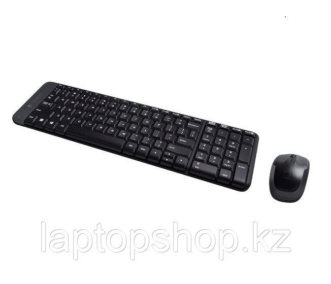 Комплект клавиатура + мышь Logitech Wireless Combo MK220 (920-003169)