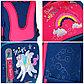 """Ранец Berlingo облегченный Classic """"Magic rainbow"""" 37*29*18 см, 1 отд, 4 кармана, анатом. спинка, фото 4"""