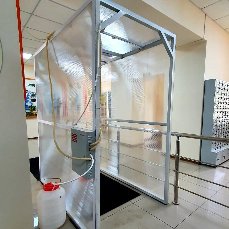 Дезинфицирующая установка (Дезинфекционный тоннель/коридор/арка)