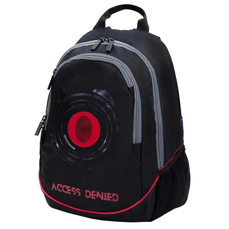 """Рюкзак Berlingo b_Active """"Access"""" 41*30*17 см, 2 отделения, 4 кармана, эргономичная спинка, LED кант"""