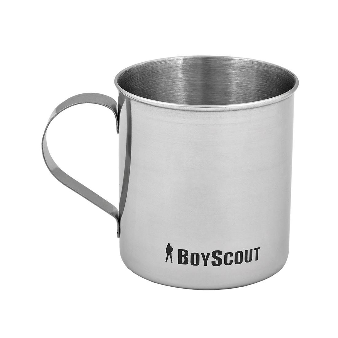 Кружка туристическая BOYSCOUT 61153 (Нержавеющая сталь, 300 мл)