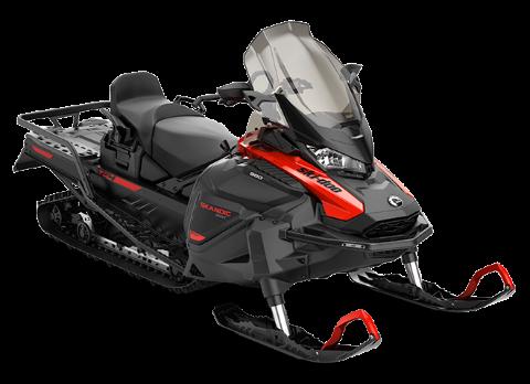 Снегоход Skandic SWT 900 ACE Черно-красный 2021