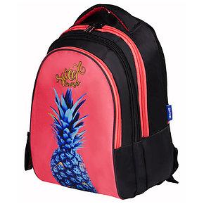 """Рюкзак Berlingo inStyle """"Pineapple"""" 41*27*20 см, 3 отделения, 1 карман, эргономичная спинка, фото 2"""