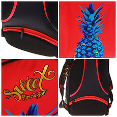 """Рюкзак Berlingo inStyle """"Pineapple"""" 41*27*20 см, 3 отделения, 1 карман, эргономичная спинка, фото 3"""
