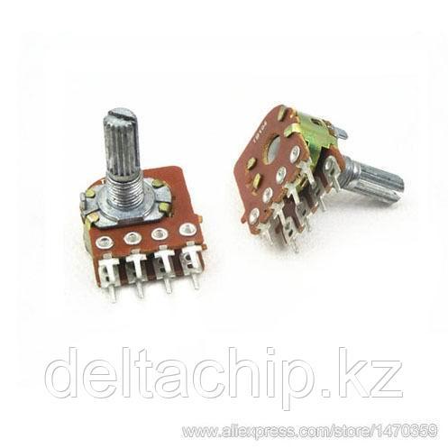 RES B100K d17mm 8 pin 25mm переменный резистор