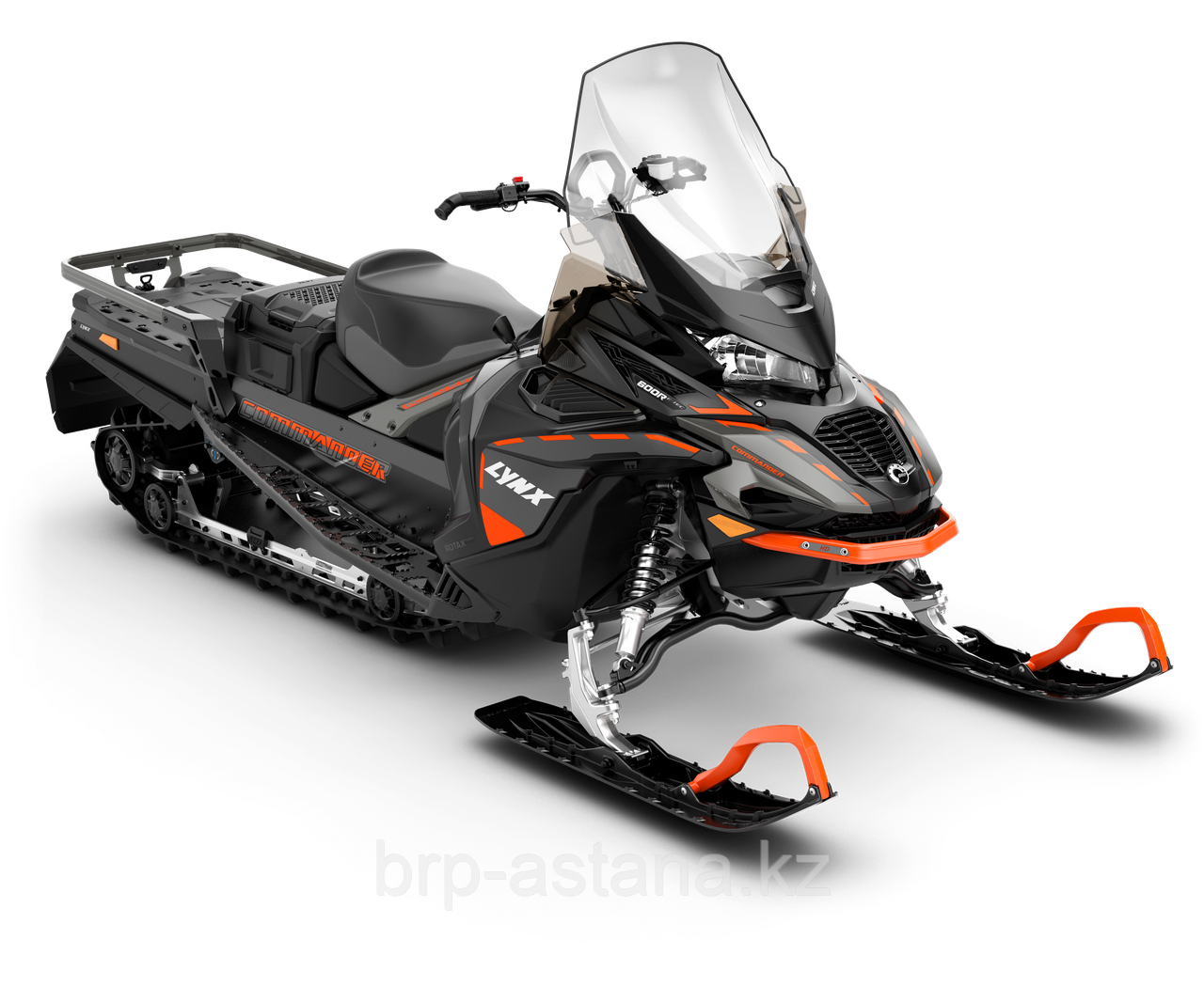 Снегоход Commander Studded track 38 mm 900 ACE Turbo Черно-серый 2021