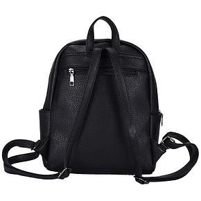 Рюкзак Ors Oro, 31*26*11см, 1 отделение, 4 кармана, экокожа, черный, фото 2